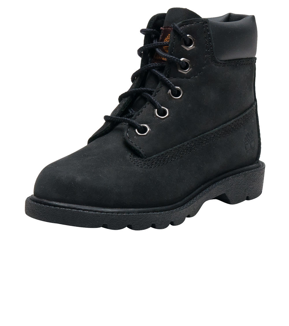 Timberland Boys Black Footwear / Boots 6