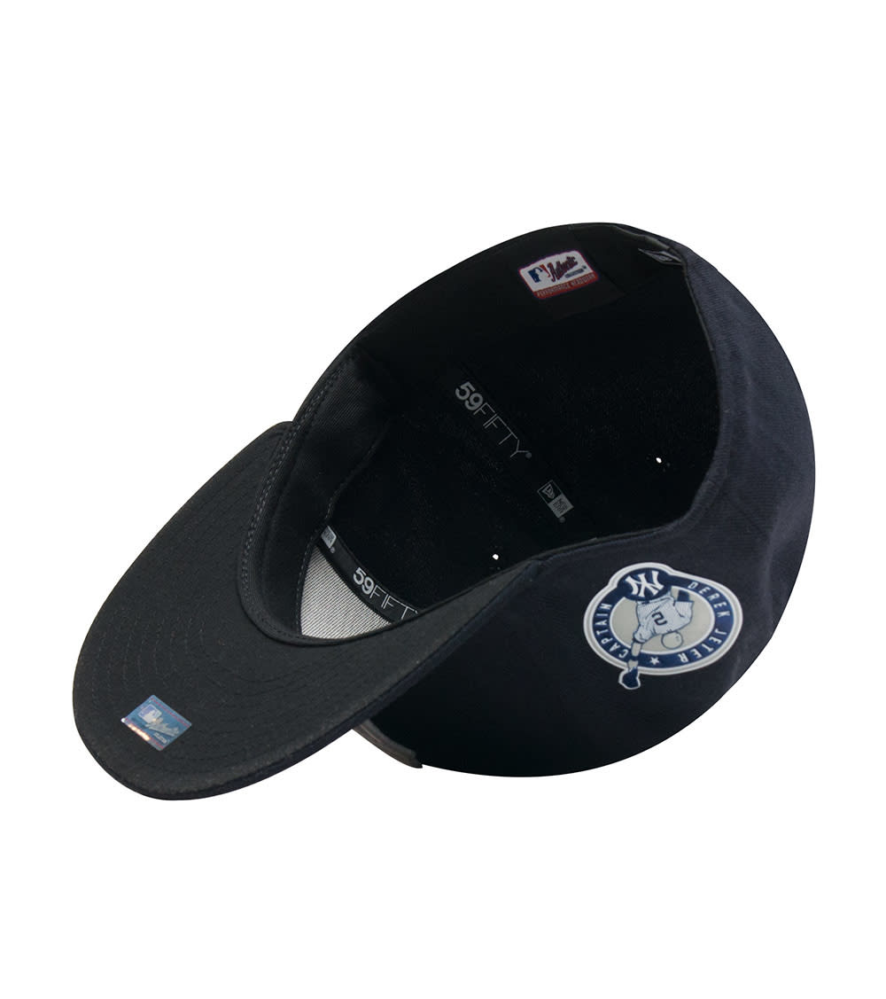 online retailer 98e8b b160b New York Yankees Derek Jeter Fitted