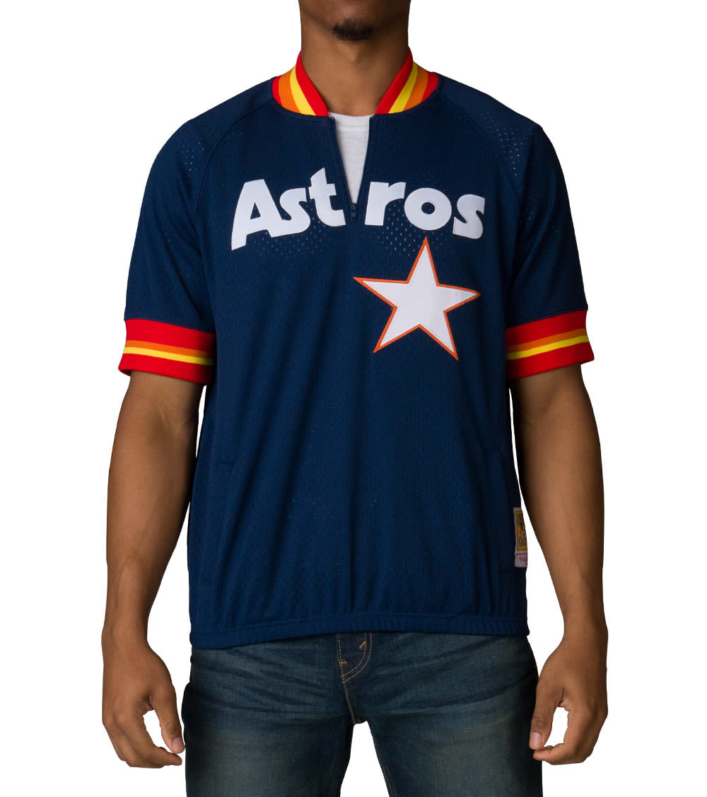 new concept 5e7e6 9cf2b Houston Astros Batting Practive Jersey