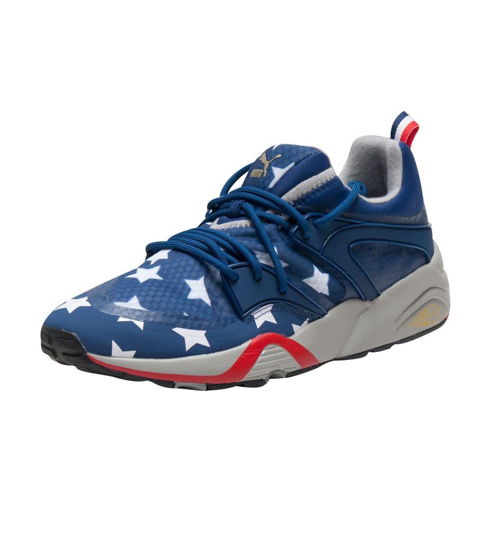 PUMA Mens Blaze of Glory RWB Casual Sneakers,