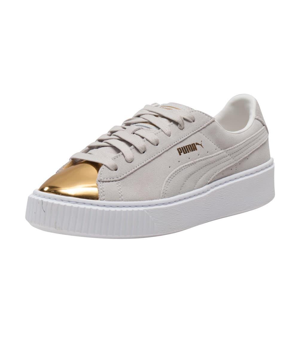 sports shoes 66373 37143 SUEDE PLATFORM SNEAKER