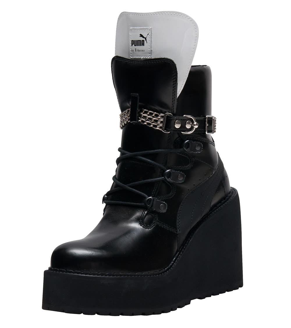 2puma boots rihanna