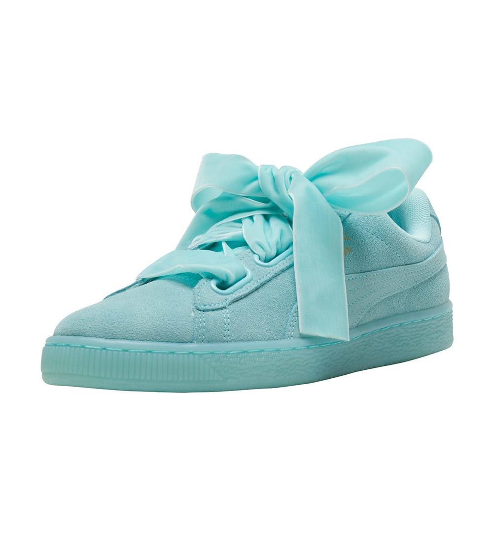 best service 5662f 489c1 Suede Heart Reset Sneaker