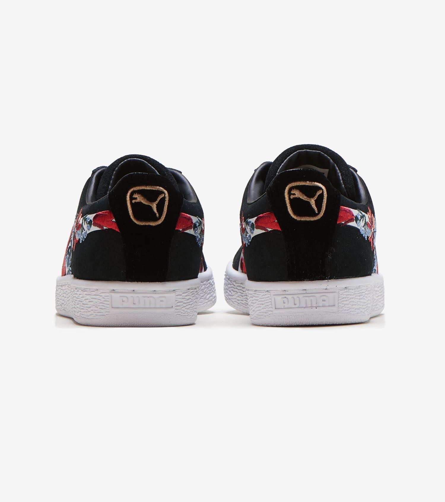 Suede Hyper Embellished Shoe