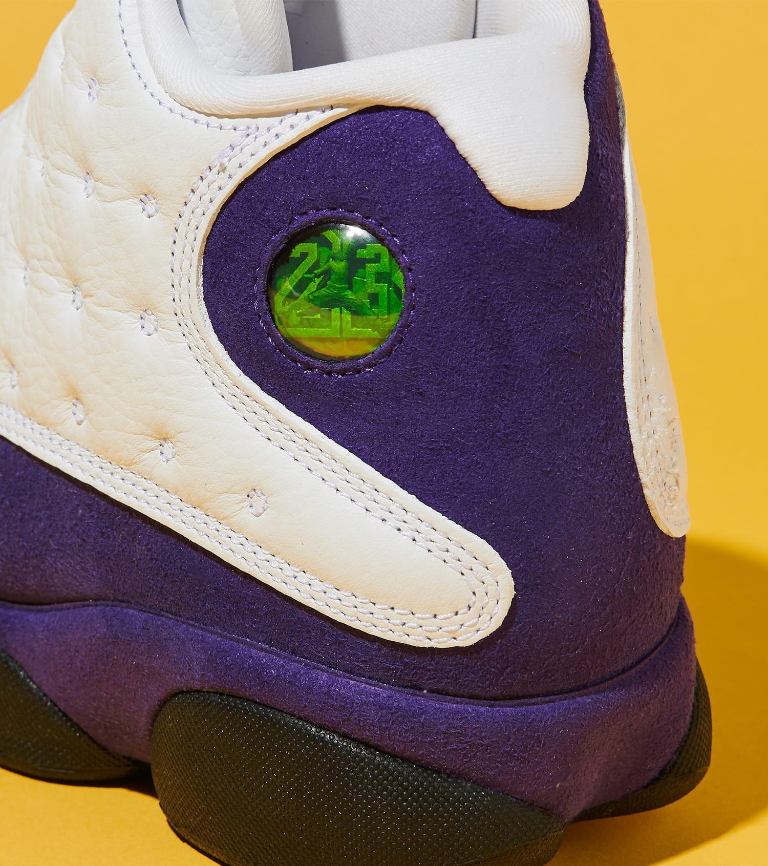 """new concept 1e1fb 3941c Air Jordan Retro 13 """"Lakers"""""""