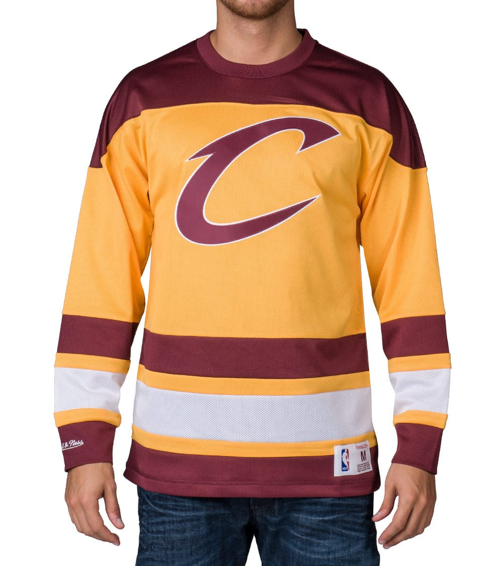 quality design dc639 f54f7 CLEVELAND CAVALIERS MESH JERSEY