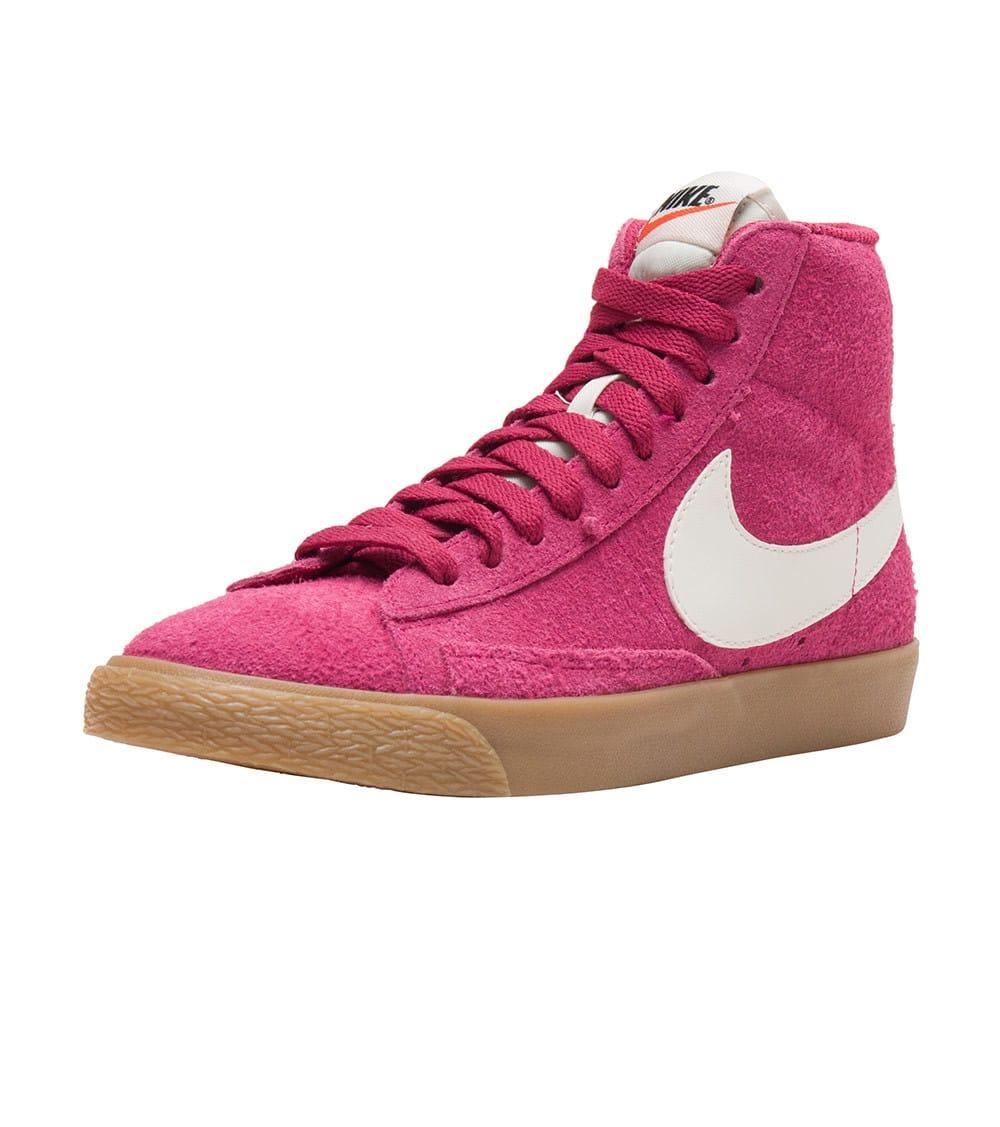 Charms Women Nike High Top Sneakers Nike Blazer Mid Suede