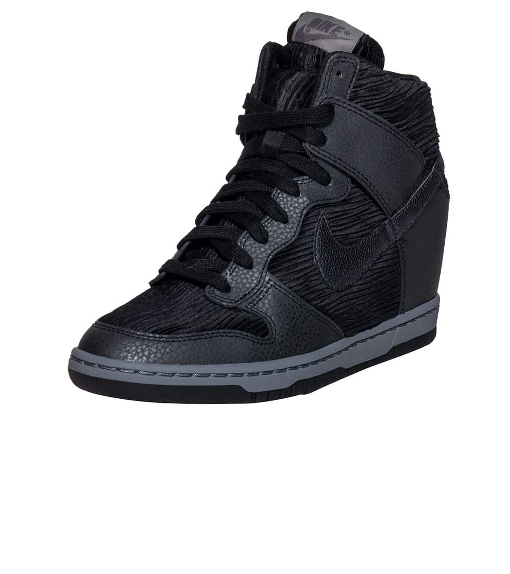 The Most Up To Date Styles Nike Dunk Sky Hi Women's Black