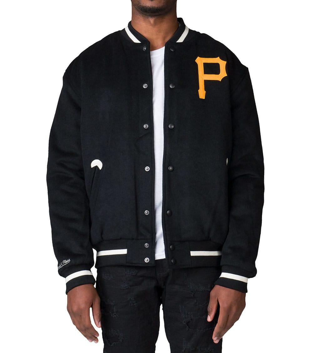 lowest price ec313 9ec22 Pittsburgh Pirates Varsity Jacket