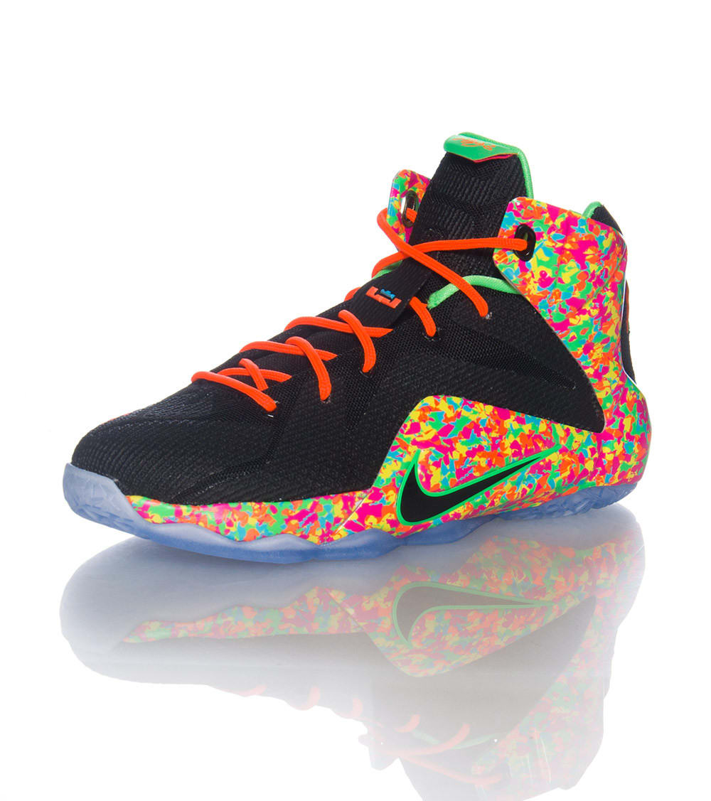 separation shoes 29a41 31694 LEBRON XII FRUITY PEBBLES SNEAKER
