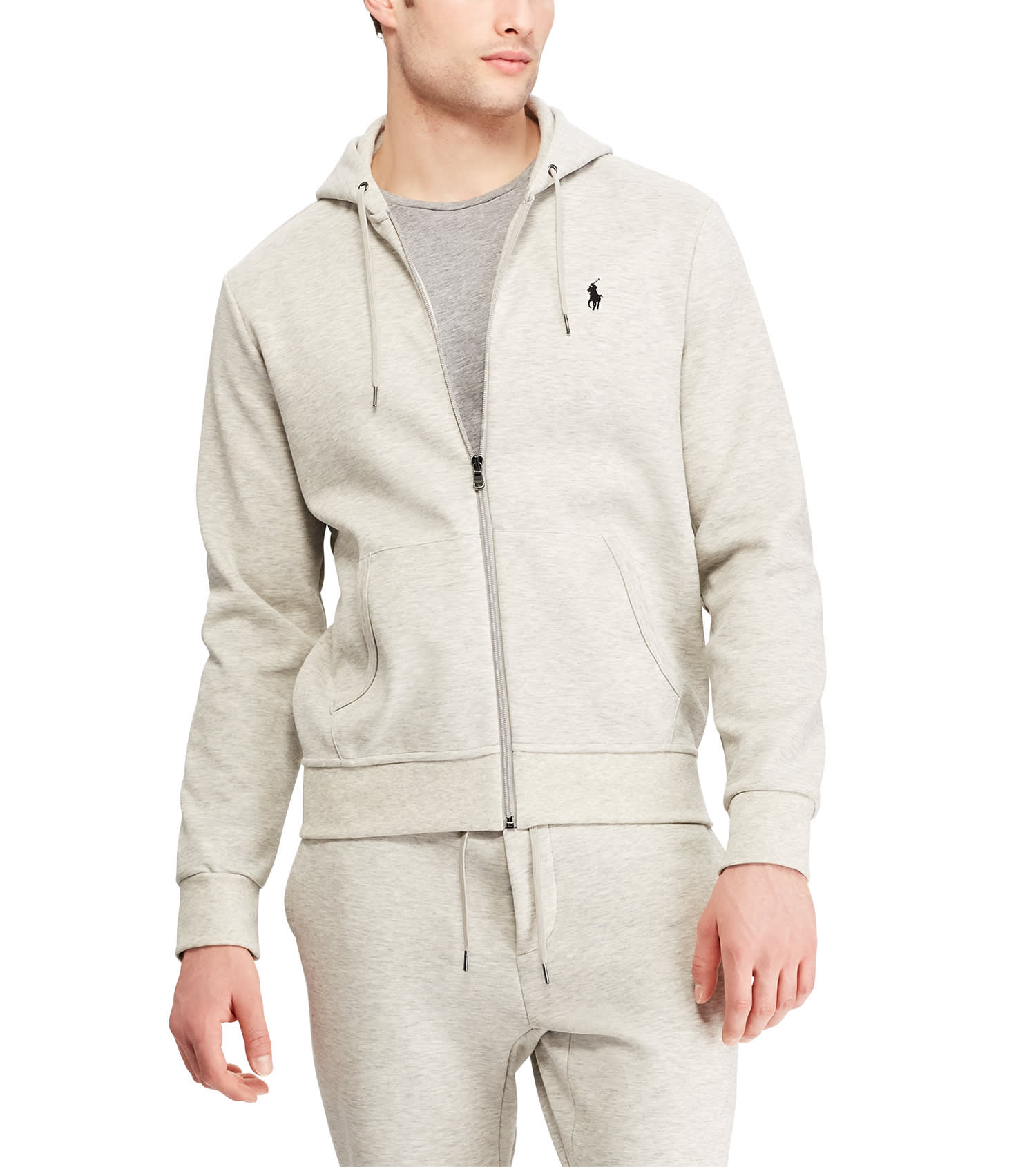 later closer at multiple colors Double Knit Tech Hoodie