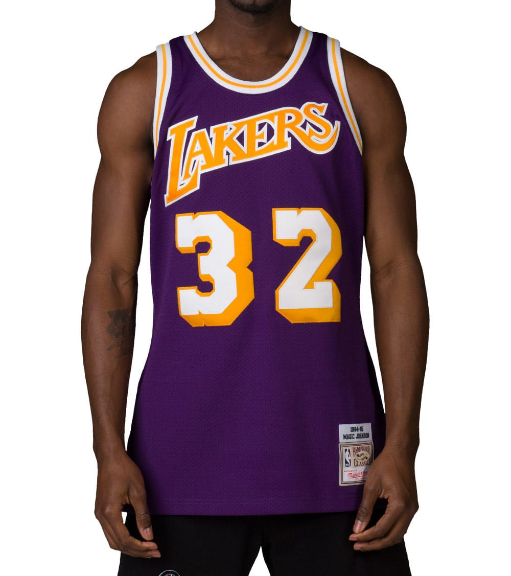 wholesale dealer b2a65 2f58a LOS ANGELES LAKERS JOHNSON 32 JERSEY