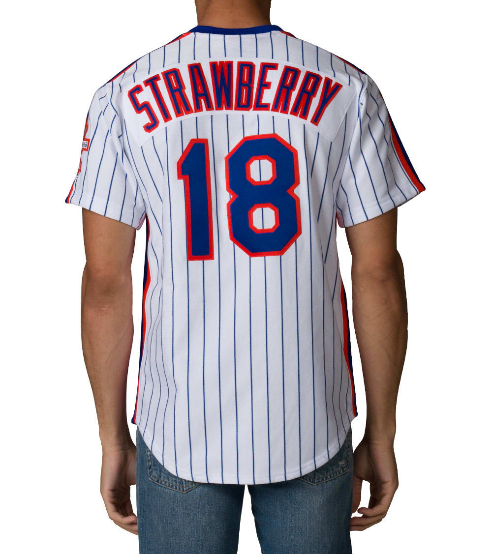 detailing 83370 cebe9 New York Mets Strawberry Jersey