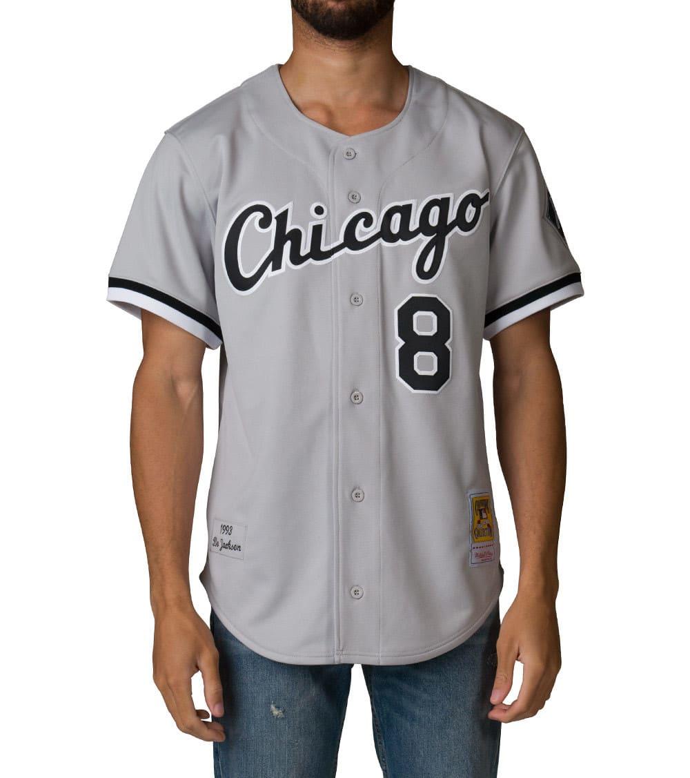 sale retailer 72ece e31bd Chicago White Sox Bo Jackson Jersey