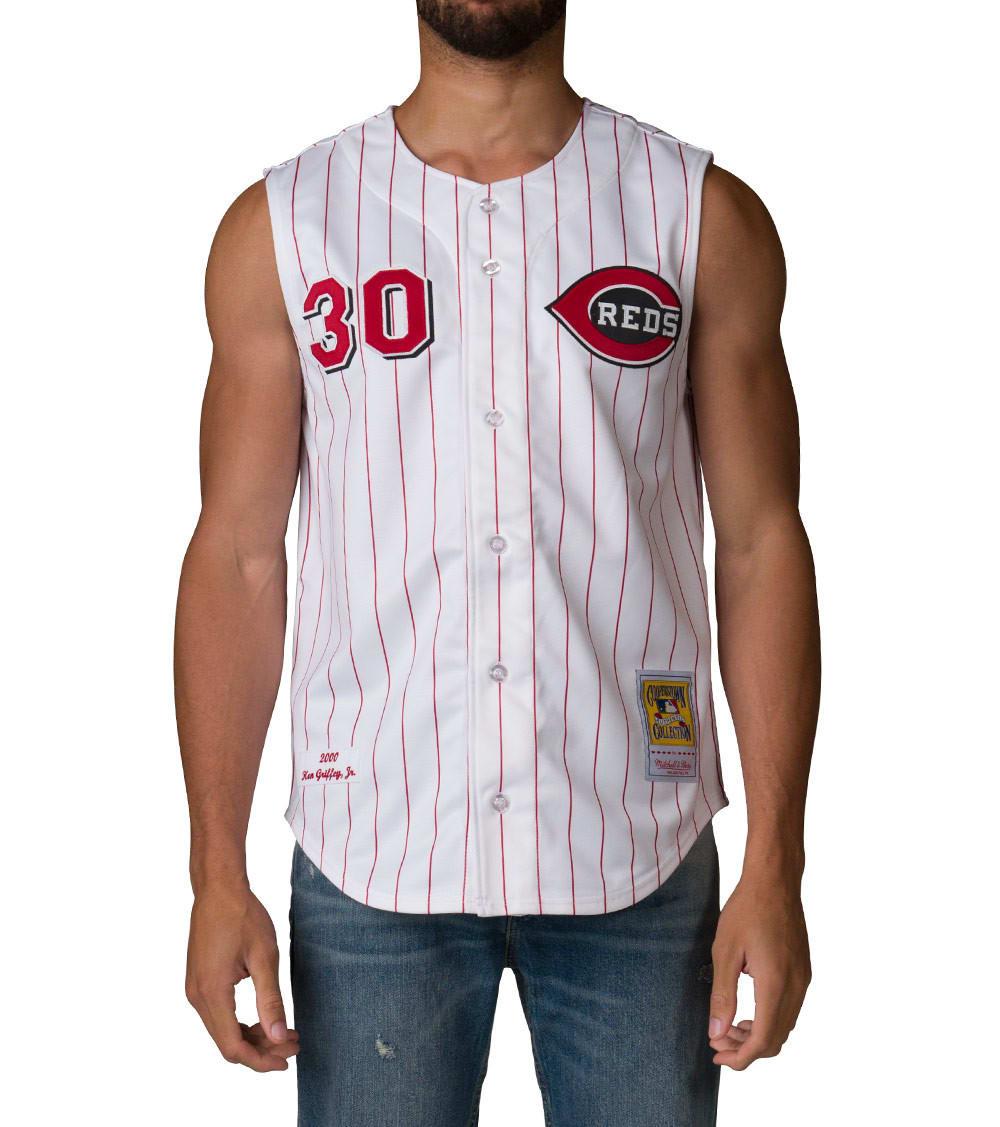 low priced 55a6b 13d80 Cincinnati Reds Ken Griffey Jersey