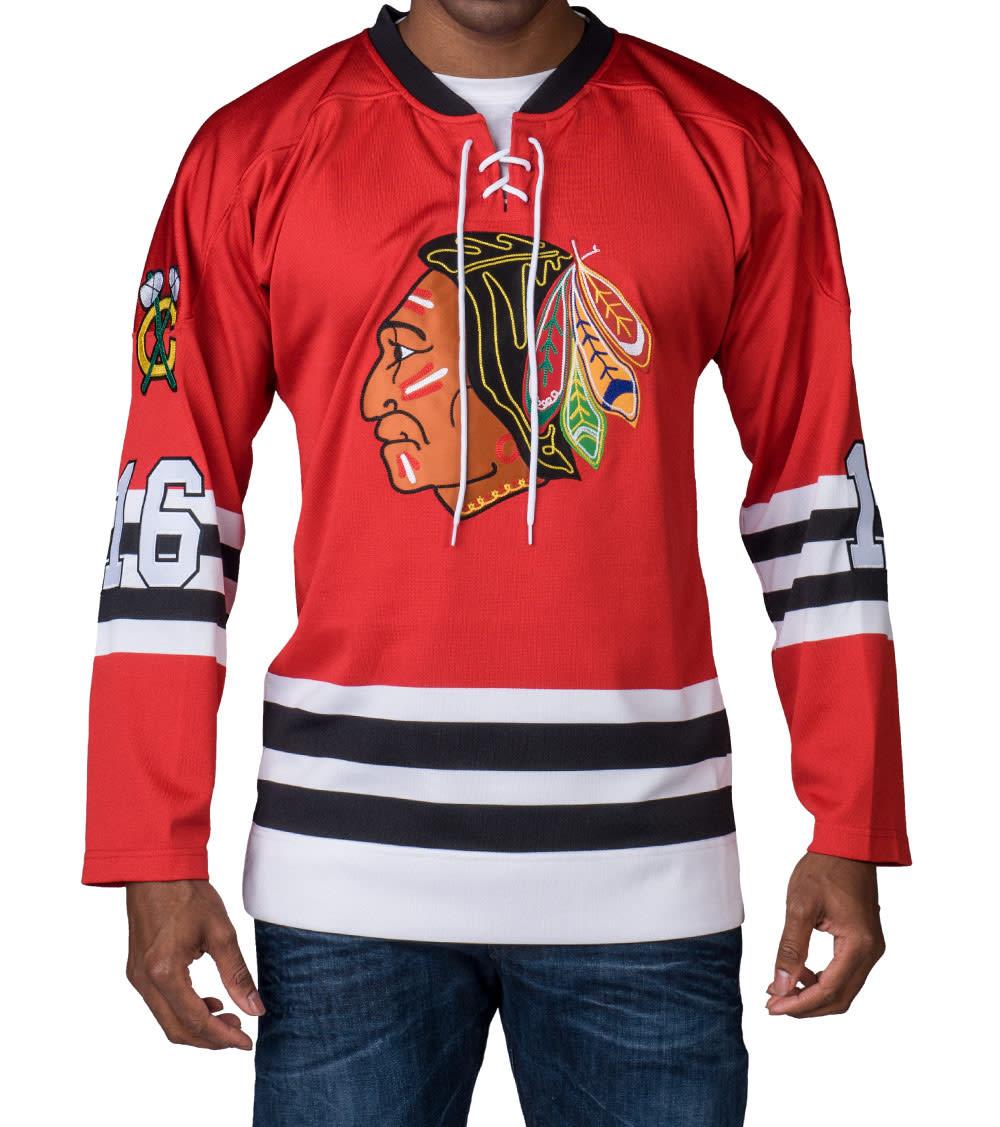 uk availability 7d66a 35109 CHICAGO BLACKHAWKS NHL JERSEY