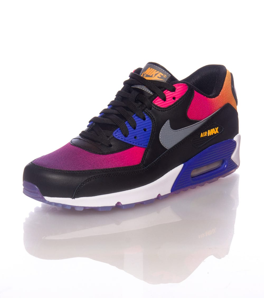 Cheap Nike Air Max 90 PurpleWhiteBlack $130.00 : nike