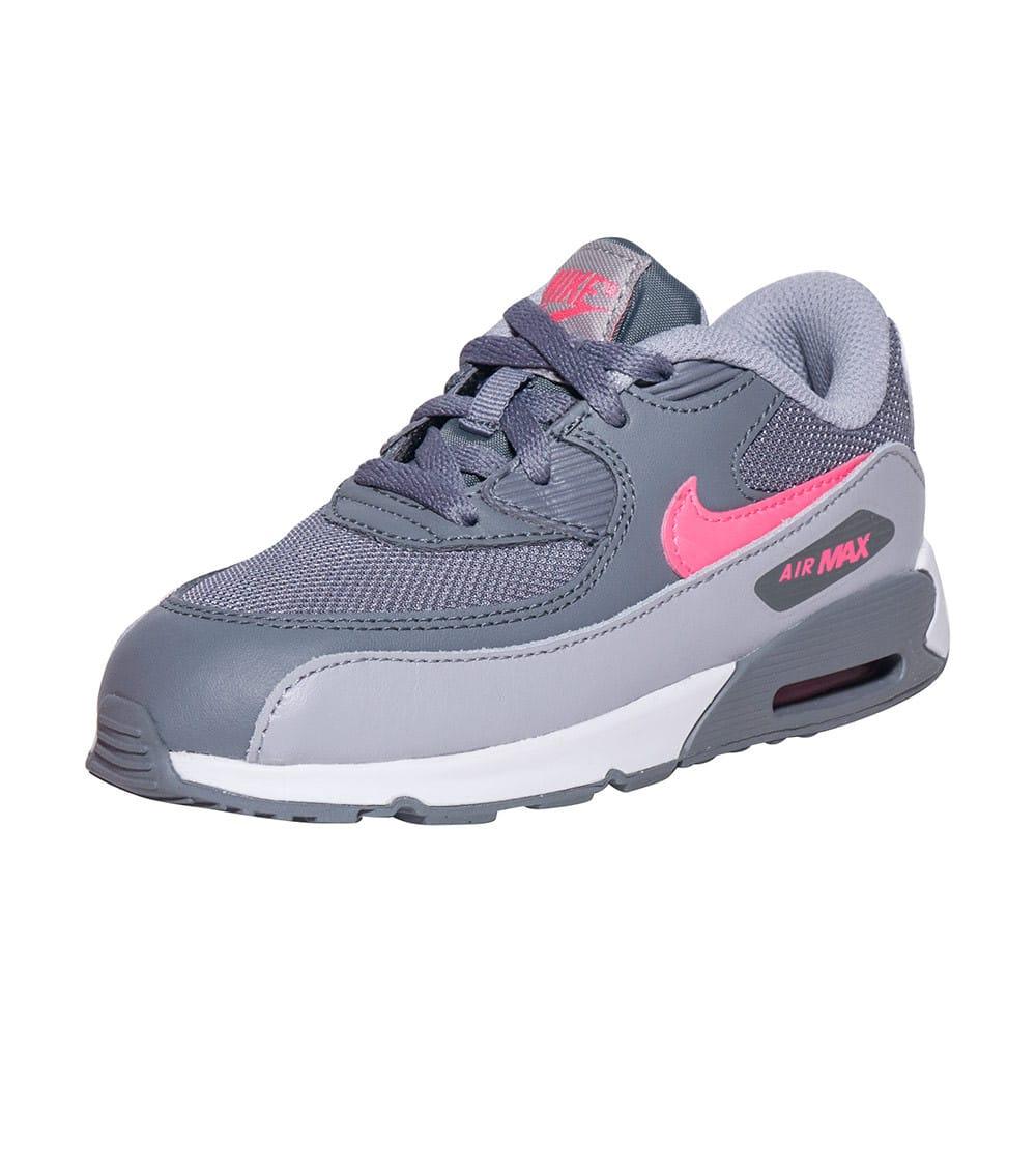 Nike White Nike Air Max 90 Mesh Sneaker