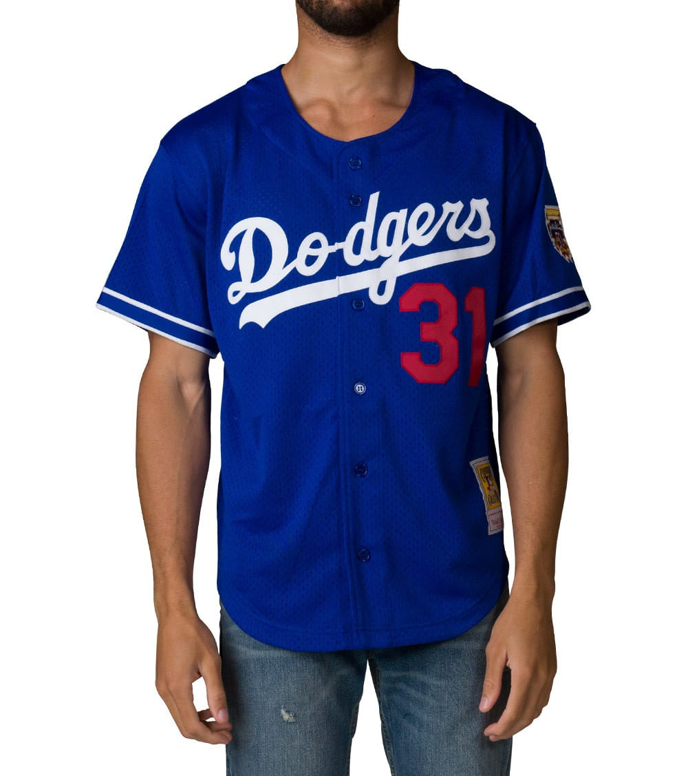 premium selection d6bec 79912 Los Angeles Dodgers Mike Piazza Jersey