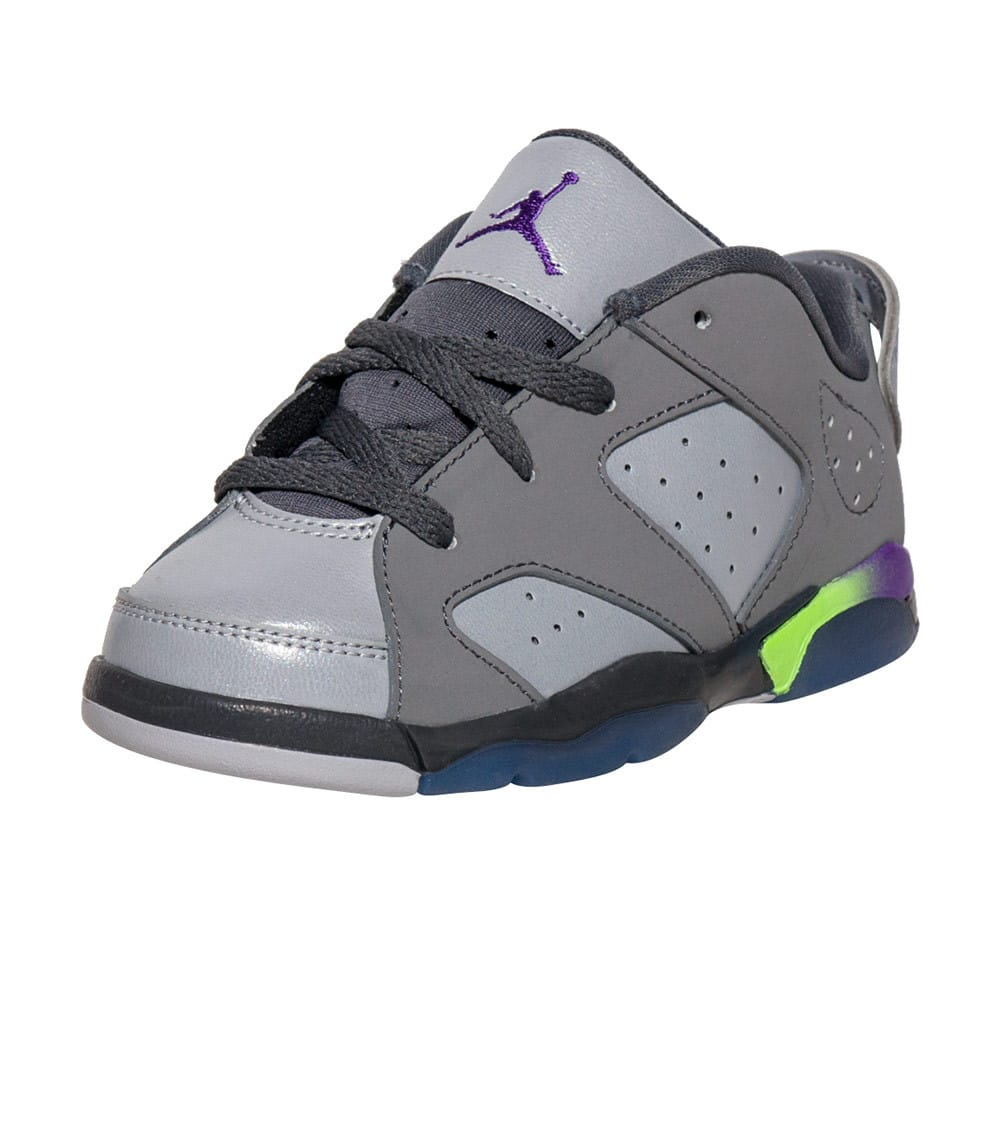 67894417747af Jordan Retro 6 Low Ultraviolet Sneaker (Grey) - 768885-008 | Jimmy Jazz