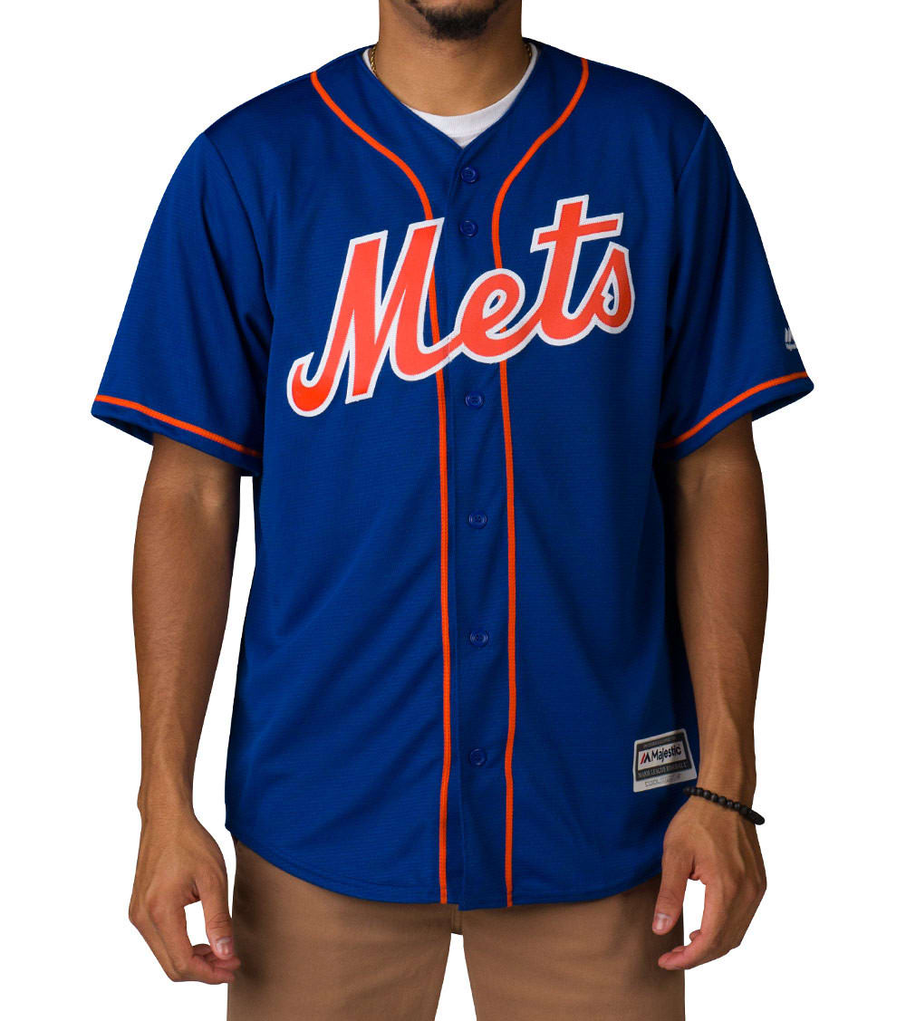 more photos 7b7b8 e0e00 NY METS HOME ALT SS REPLICA JERSEY