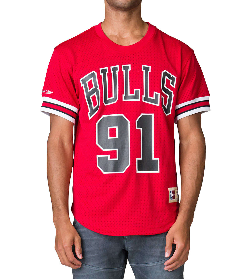 free shipping 064cf 4db57 Rodman Chicago Bulls Jersey JJ Exclusive