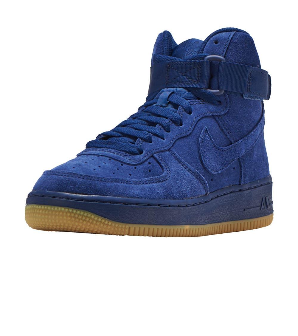 Nike Air Force 1 suede sneakers