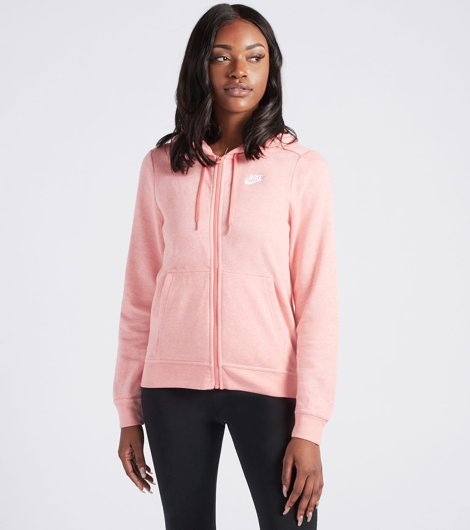Nike Women's Air Full Zip Pink Hoodie