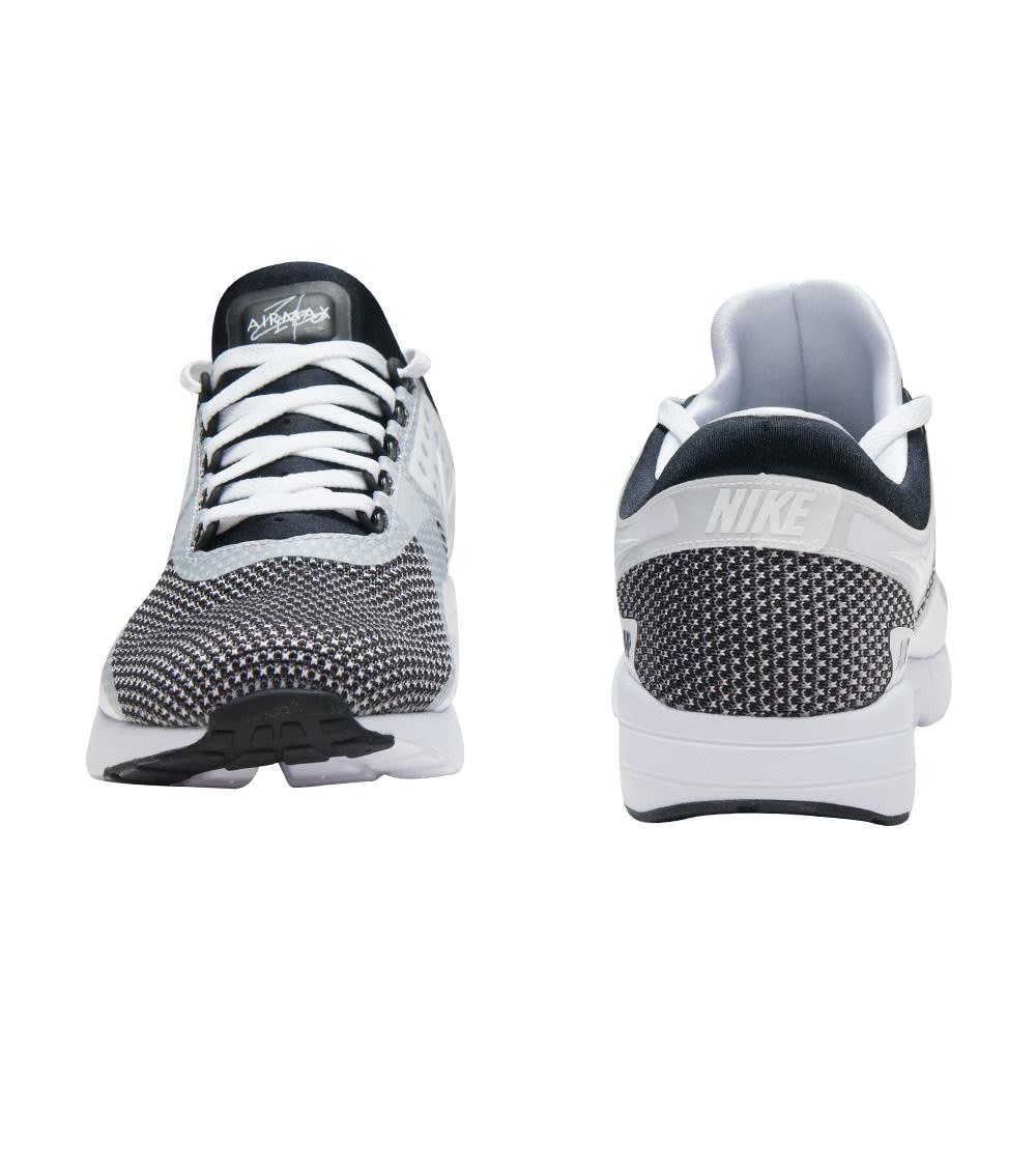 NIKE 876070 005 MENS Air Max Zero Essential Black White Gray Running Shoes 10.5