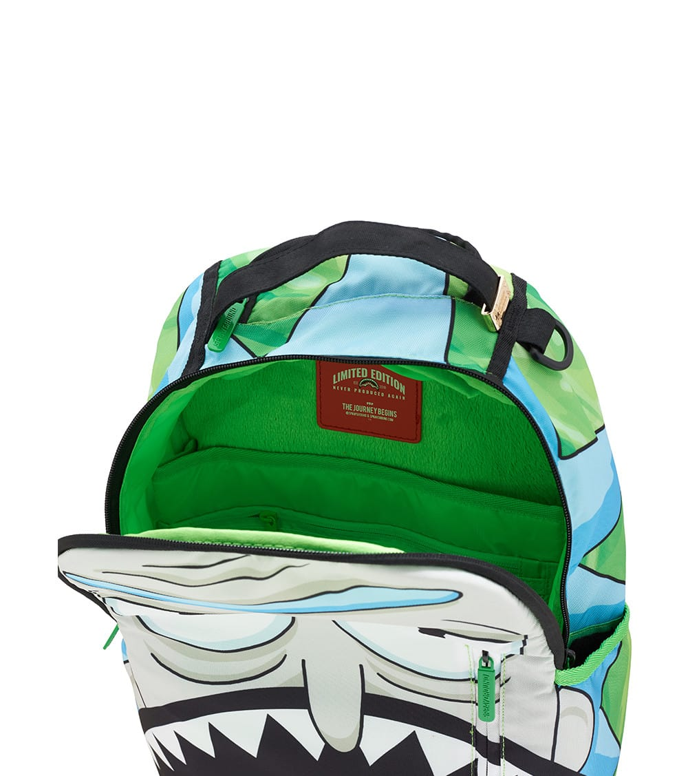Sprayground Rick And Morty Shark Backpack (Multi-color