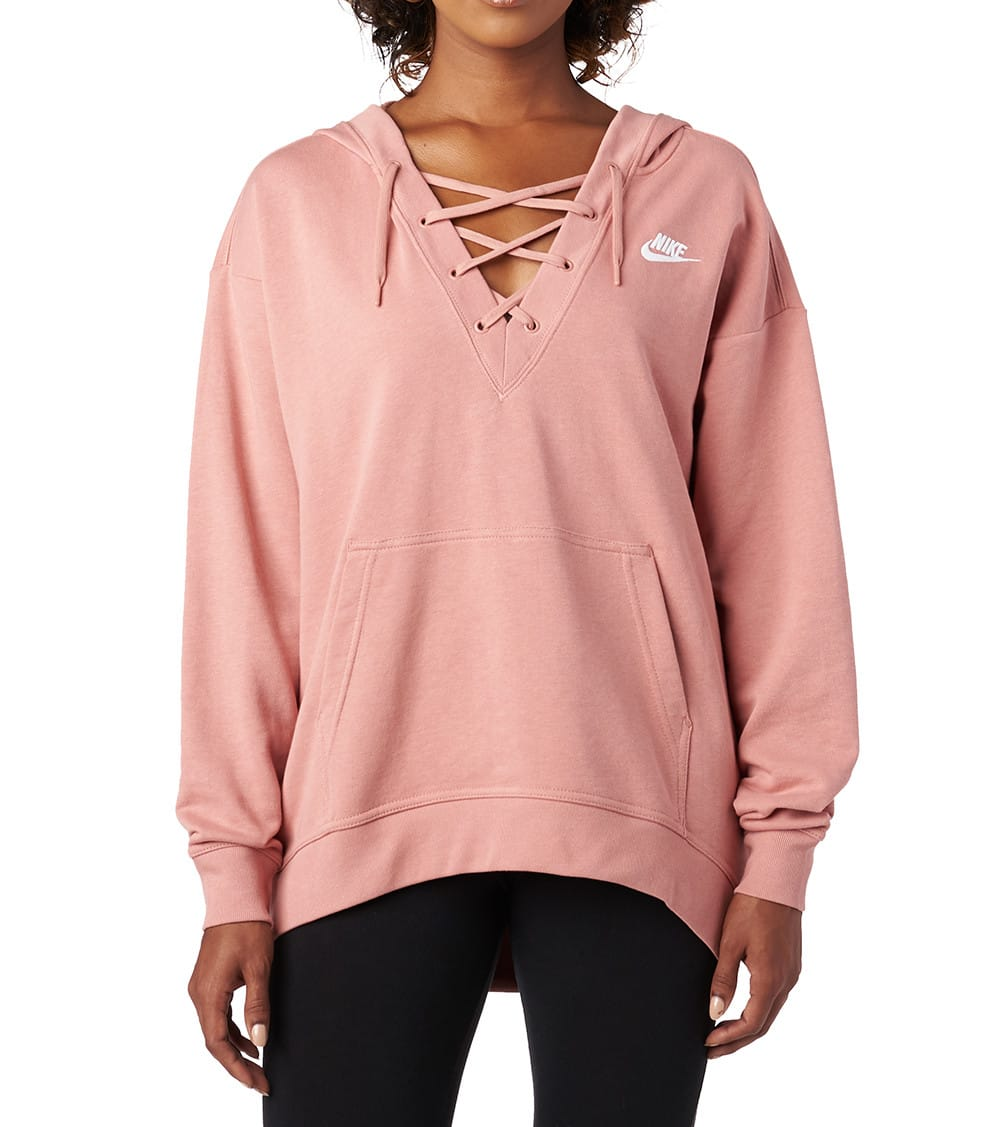 FT Lace Up Hoodie