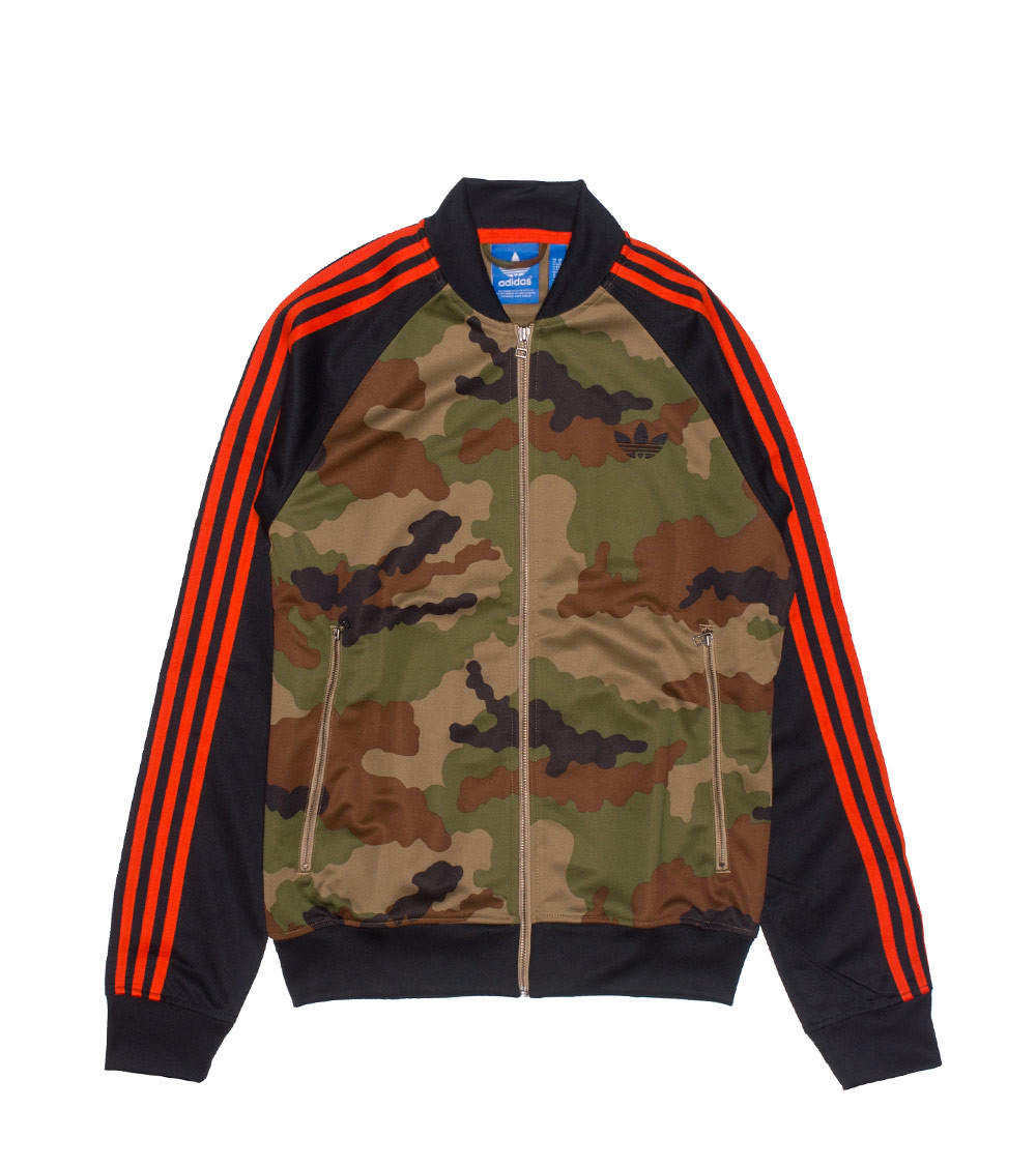 adidas street superstar camo track jacket off 64% www