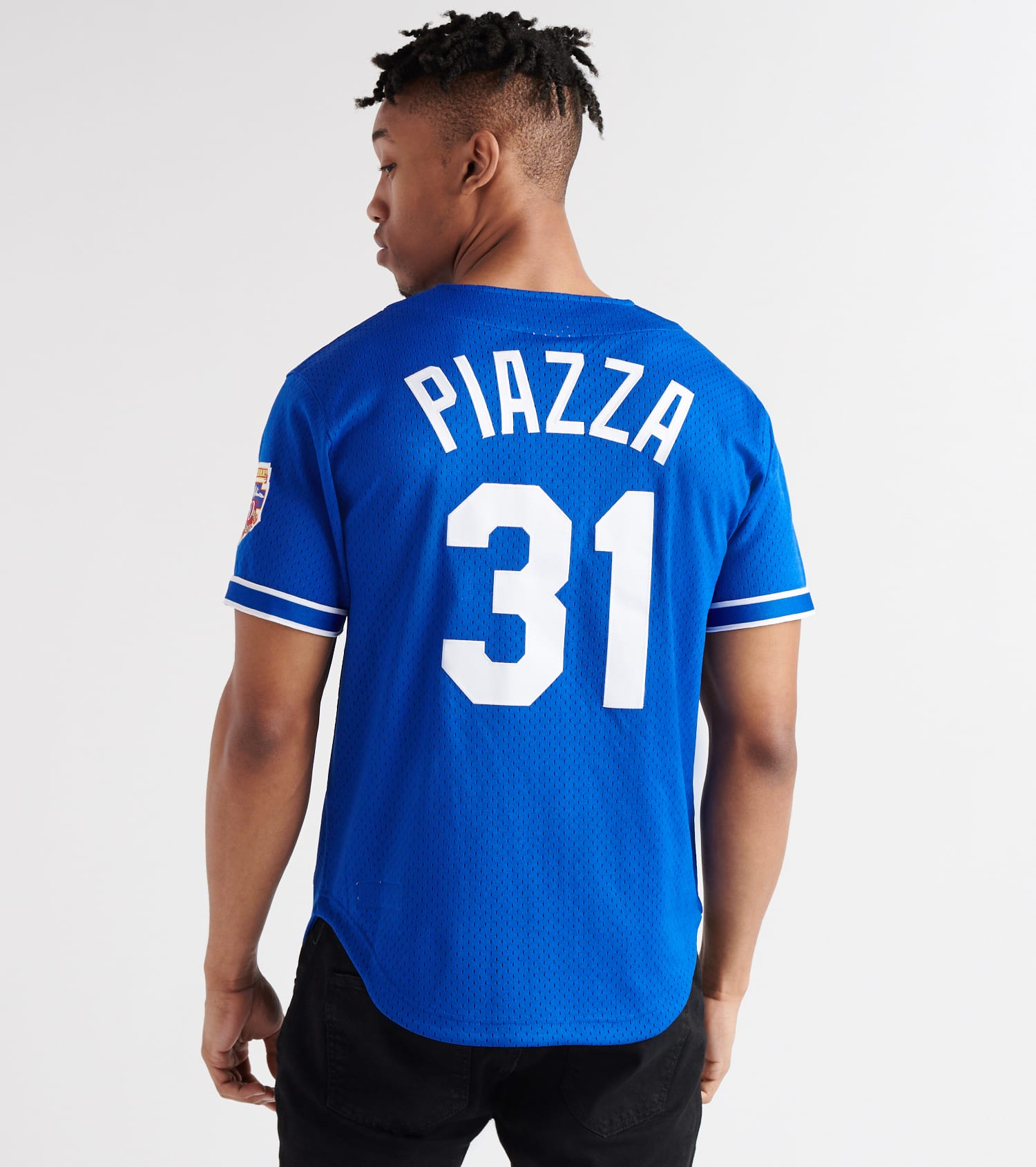 on sale 7e156 e5c1f Mike Piazza 1997 Dodgers BP Jersey