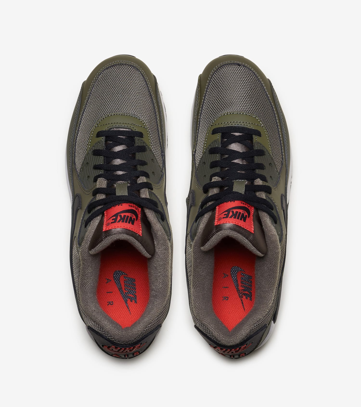 nike free run green, Mens Nike Air Max 90 Leather Up Shoes