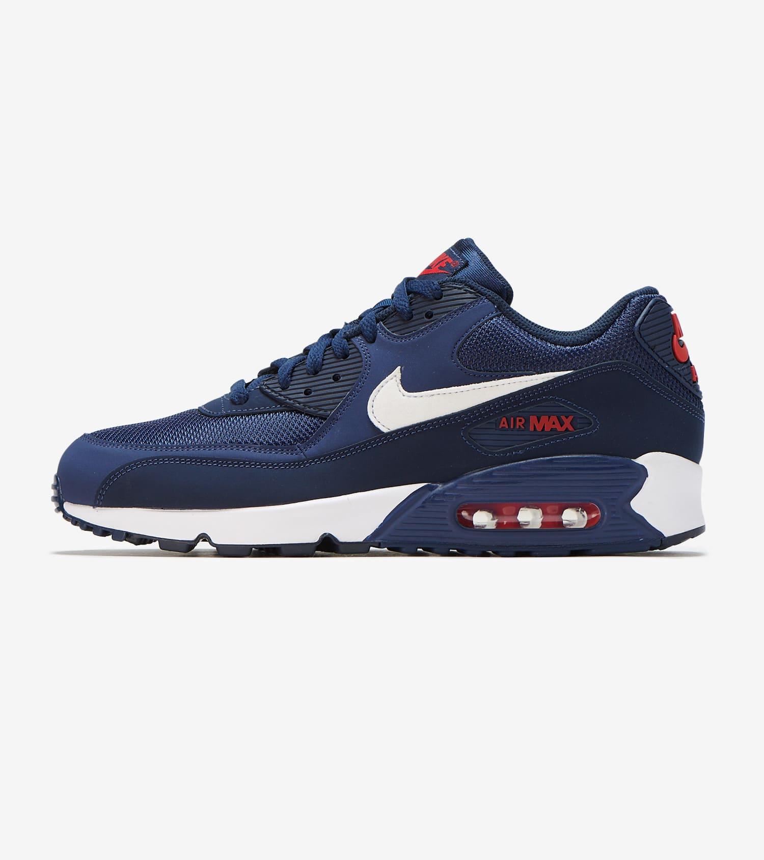 Nike Air Max 90 Essential (Midnight Navy White V Red) [AJ1285 403] Mens 8 13