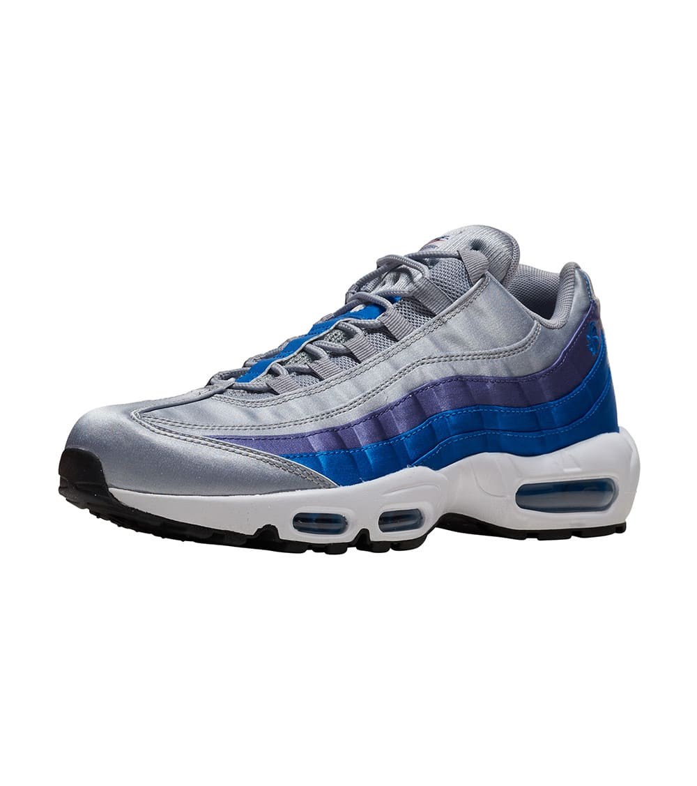 Mens Winter Nike Air Max 95 Running Shoes Carbon grey light grey blue white NIKE ND011188