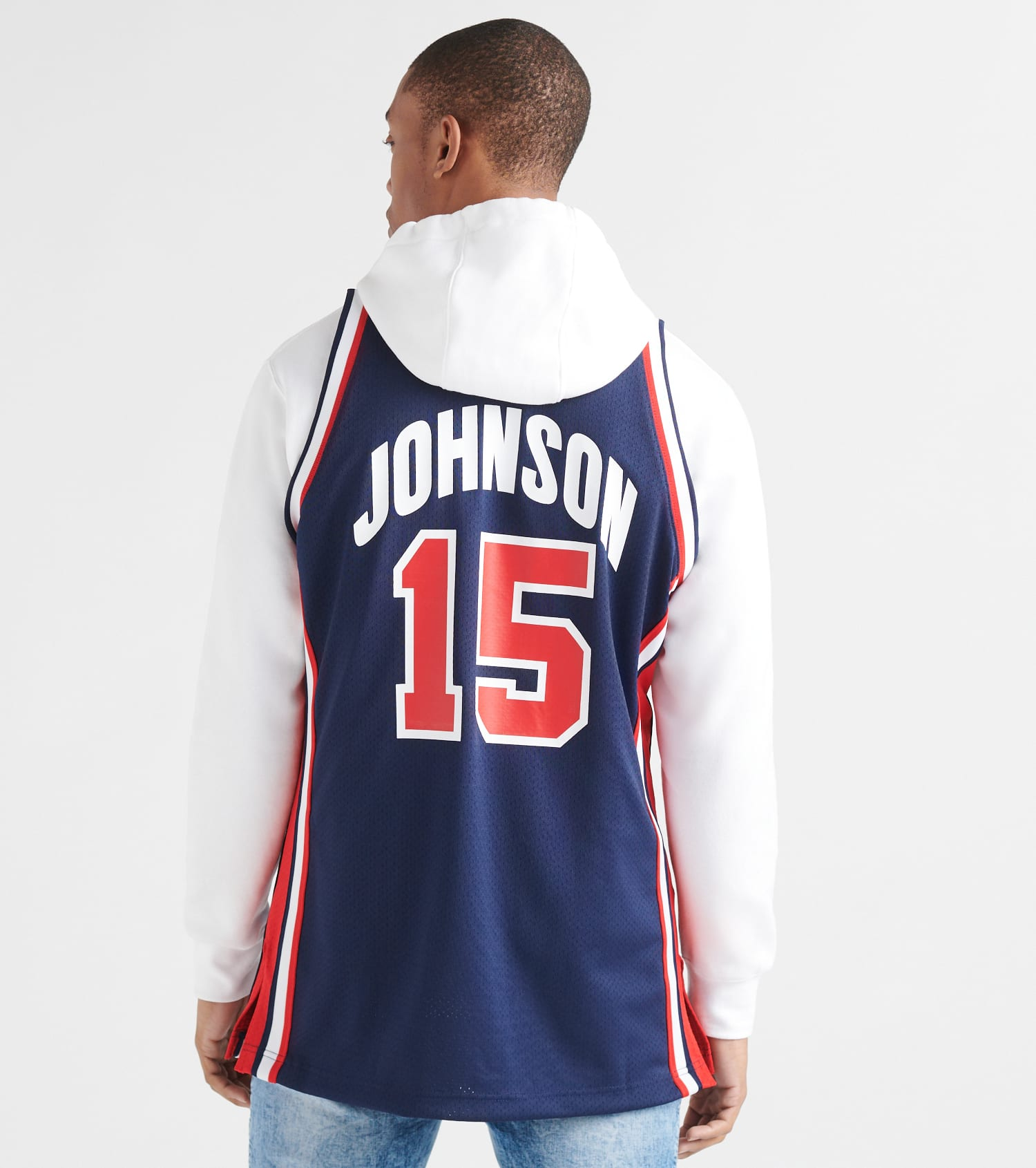hot sales 4863d 5e6d7 Team USA Magic Johnson Jersey