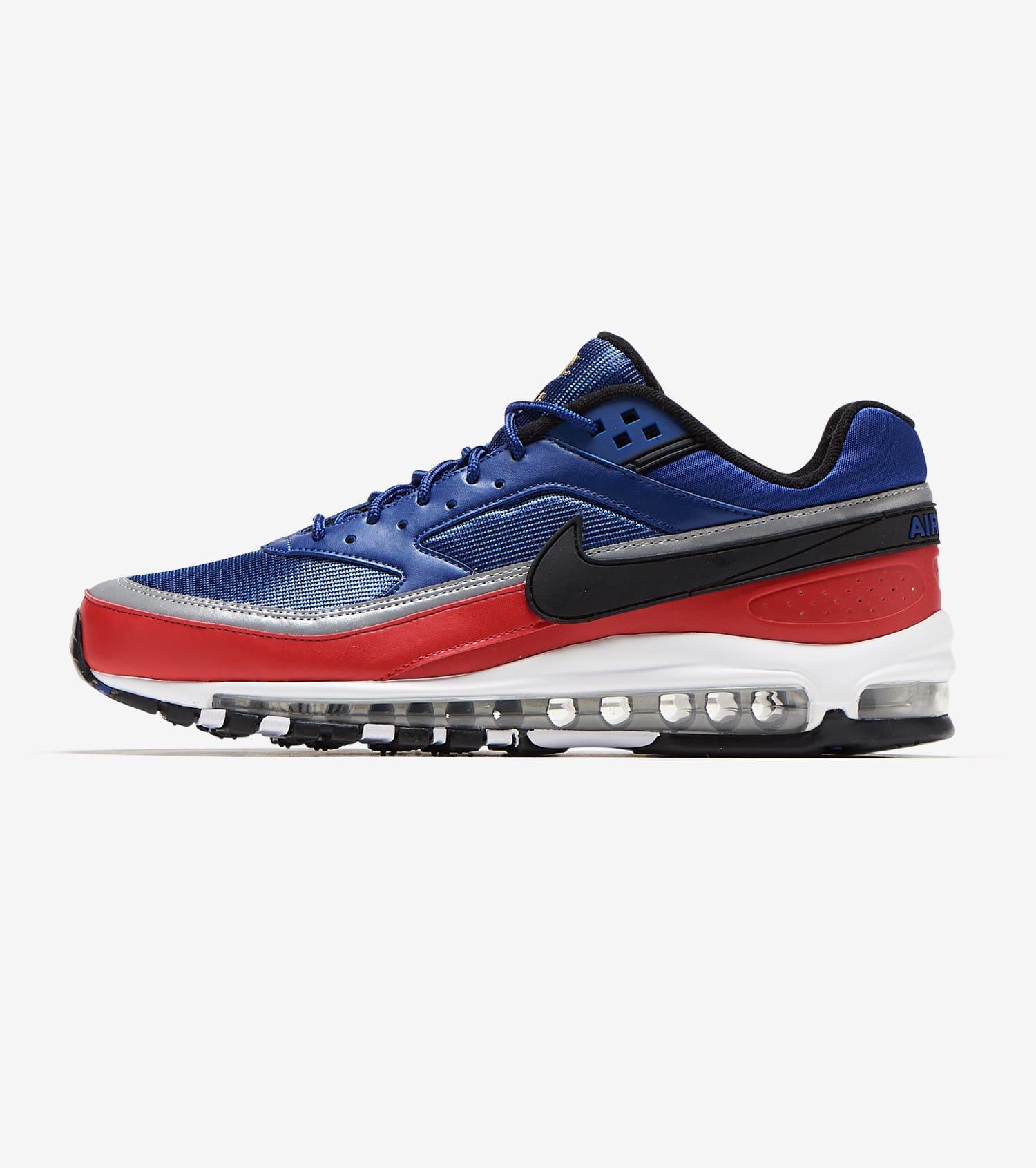 Nike Air Max 97 BW Deep Blue Red Size 7 8 9 10 11 12 Mens