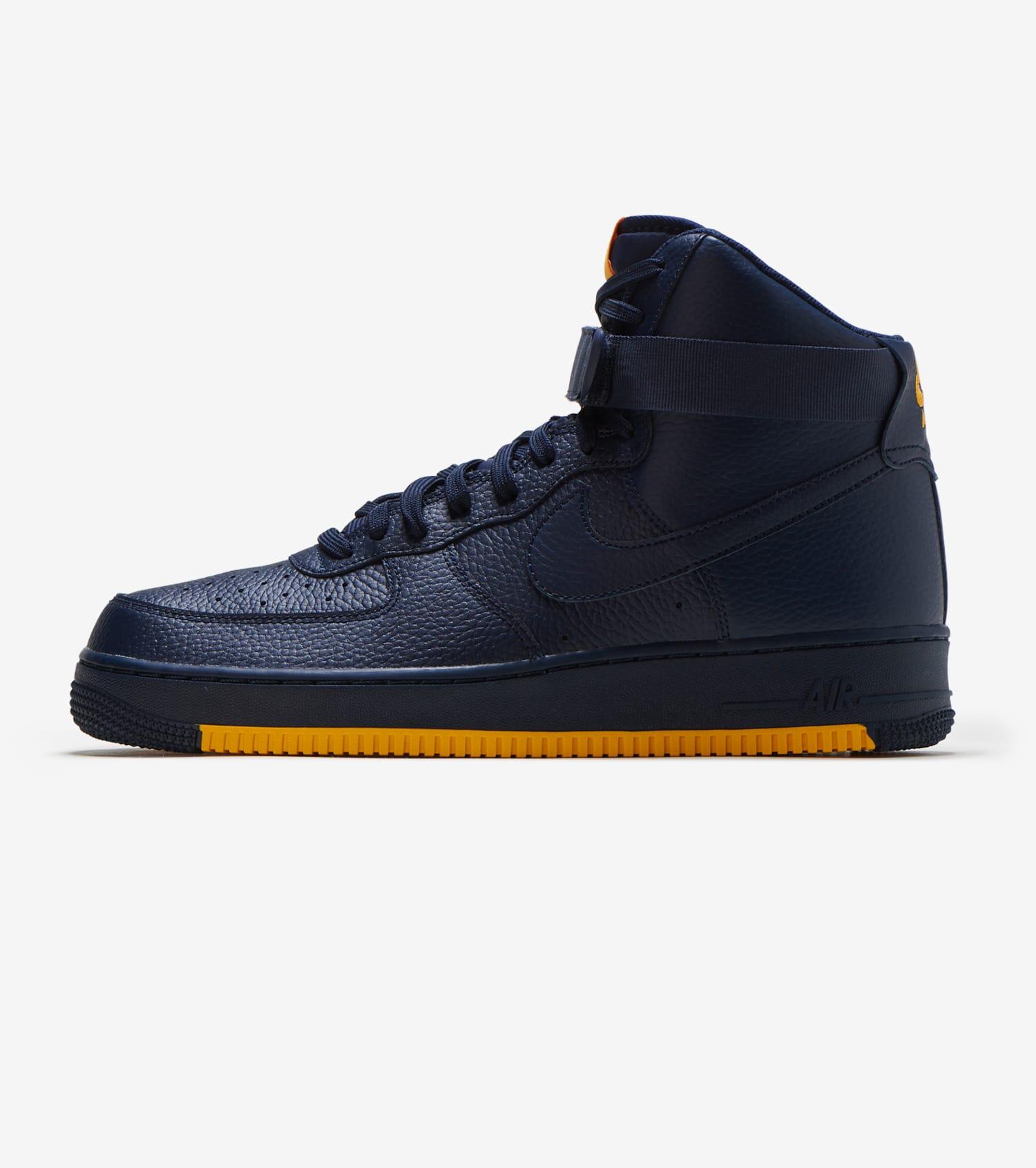 Buy Nike Air Force 1 High Mens Blue White   Nike Air Force 1