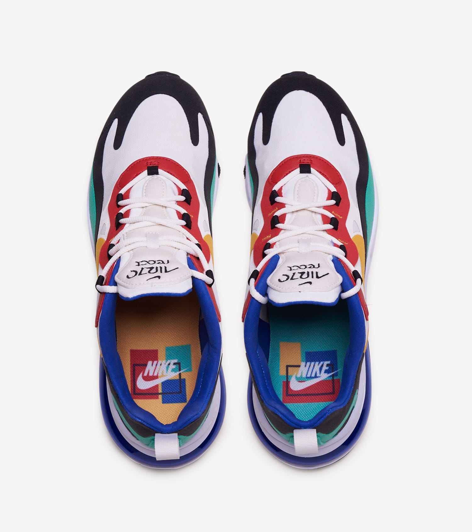 Air Max 270 React Bauhaus Men S Shoes Created By Ads