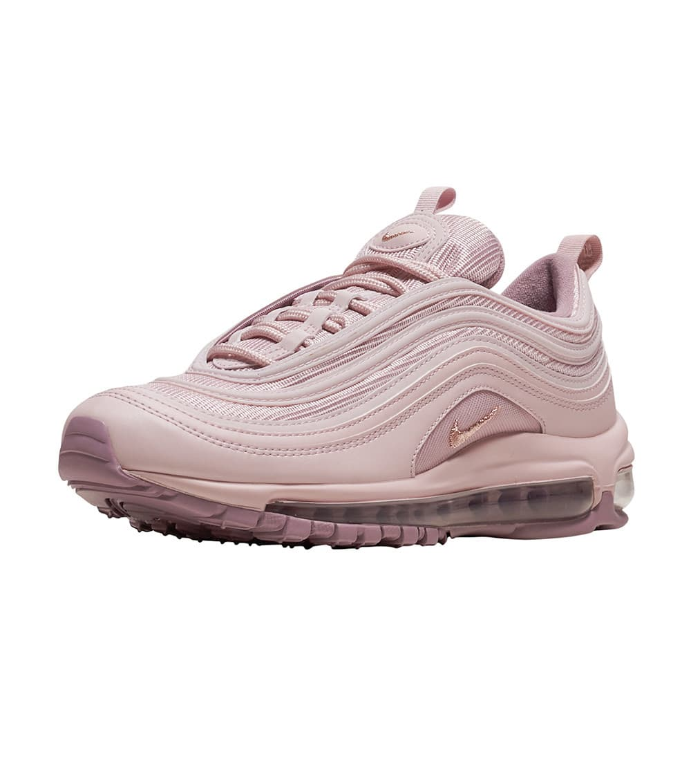 Kaufen Nike Air Max 97 Leather Alle Rosa Weiß Logo Damen