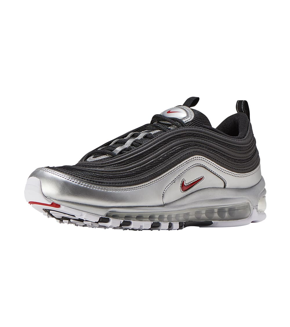 Details about Nike Air Max 97 QS Black Silver Size 7 8 9 10 11 12 13 Mens Shoes New AT5458 001
