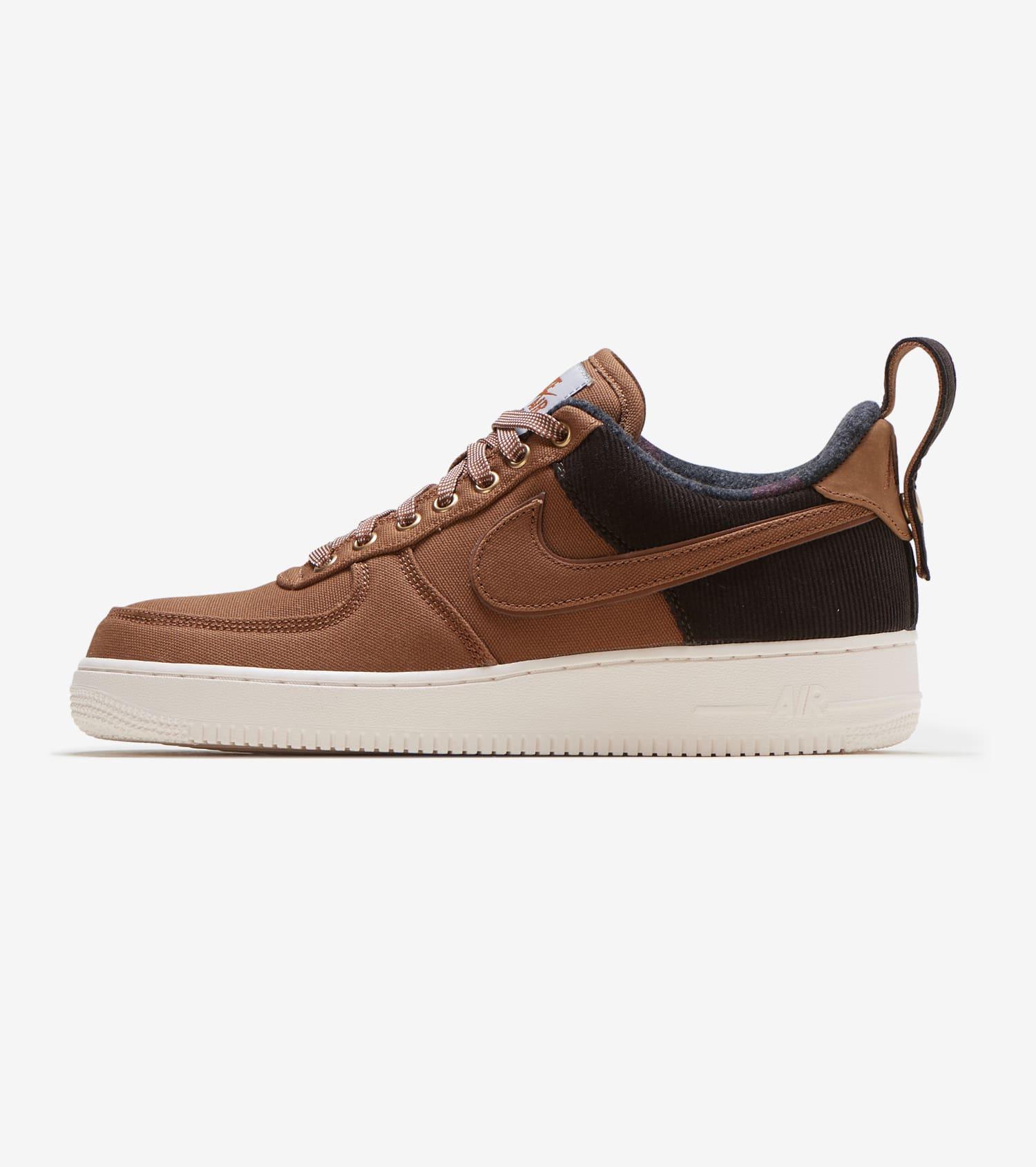 Nike x Carhartt Men Air Force 1 '07 Prm Wip (ale brown ale brown sail)