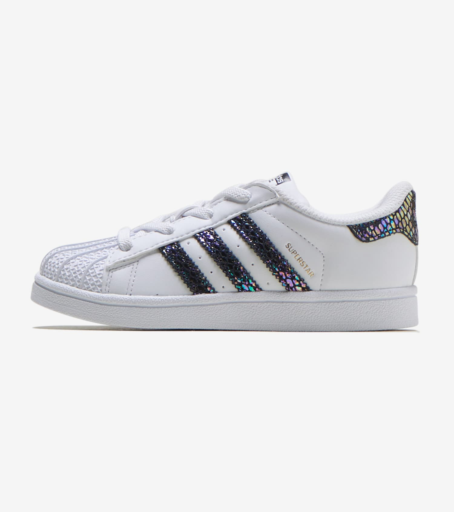 adidas superstar ii metallic white
