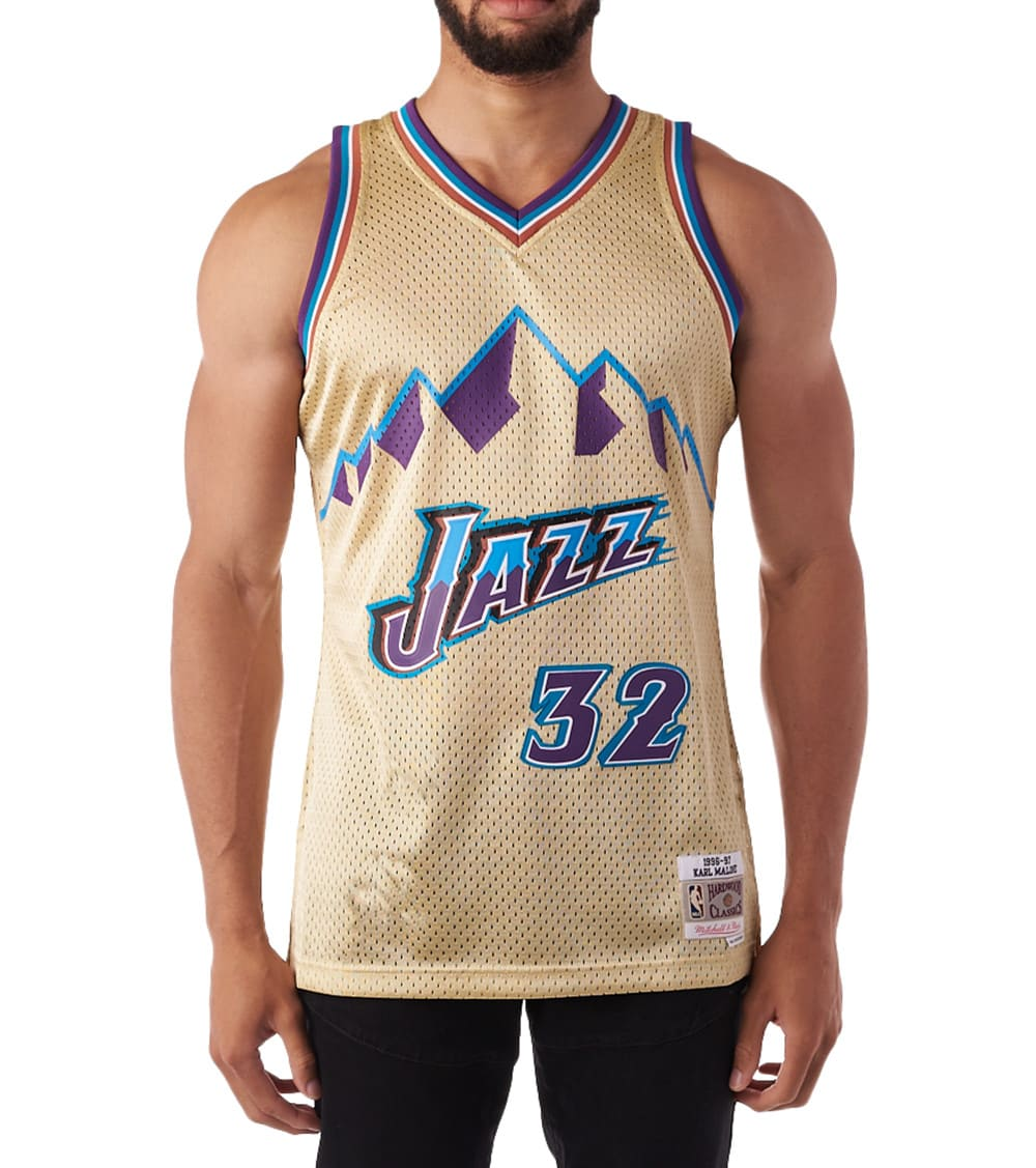 wholesale dealer 11edc 2f947 Utah Jazz Karl Malone Swingman Jersey