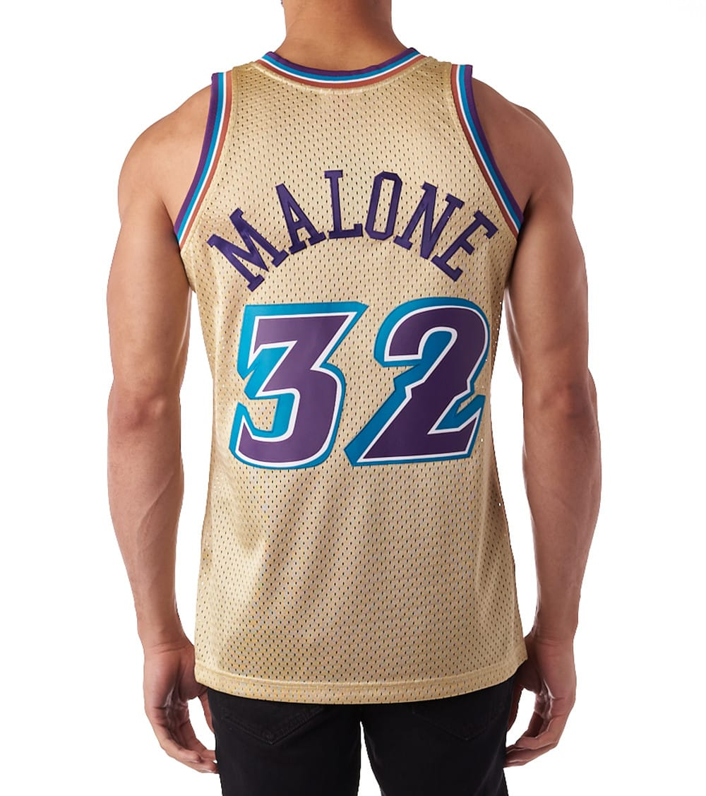 wholesale dealer 8acb0 681ca Utah Jazz Karl Malone Swingman Jersey