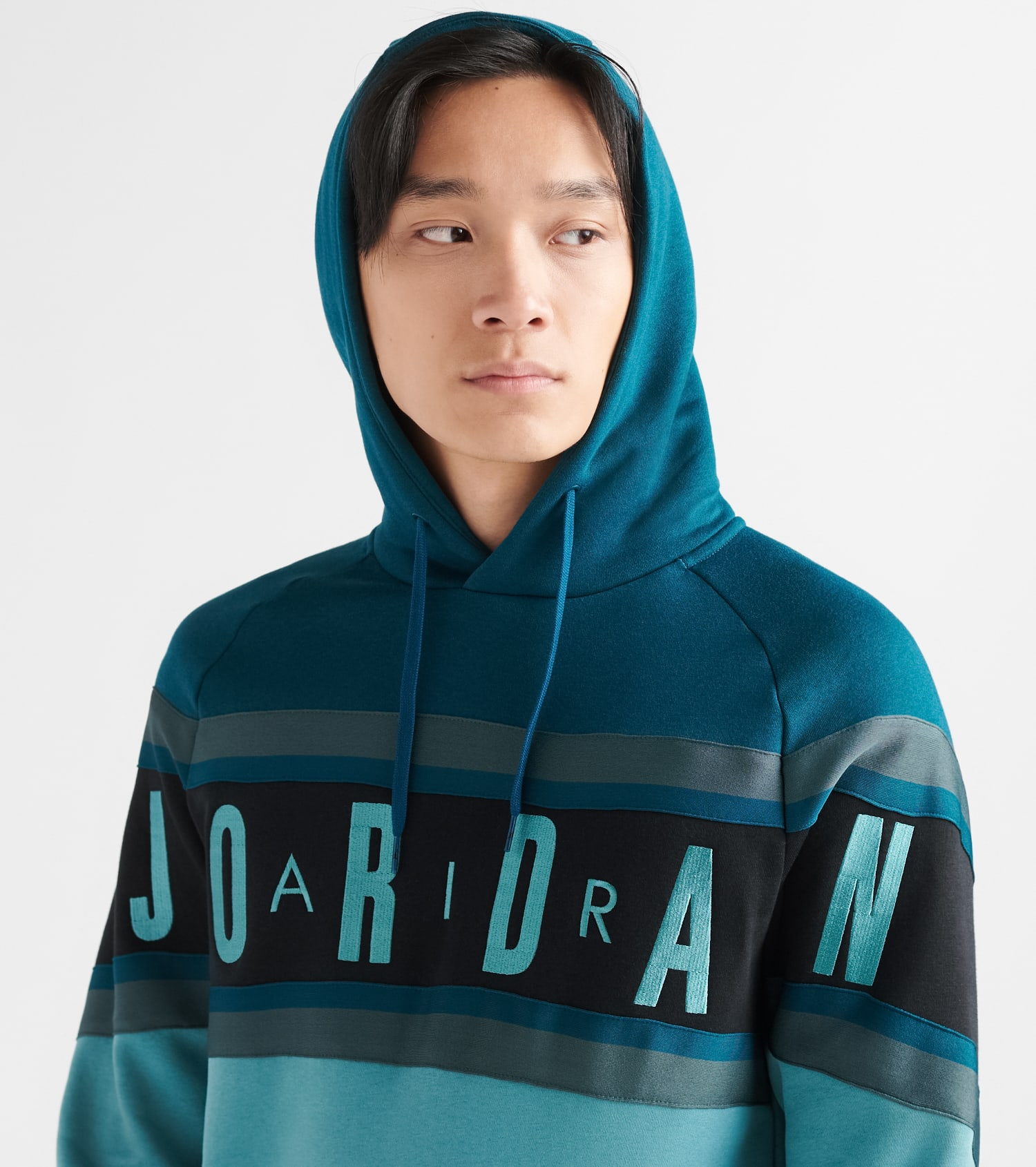 Air Gradient Fleece Pullover Hoodie