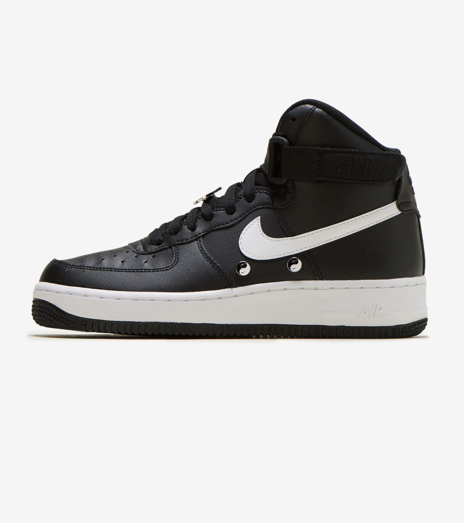 Nike Air Force One High Lifestyle Black Casual Shoes Buy