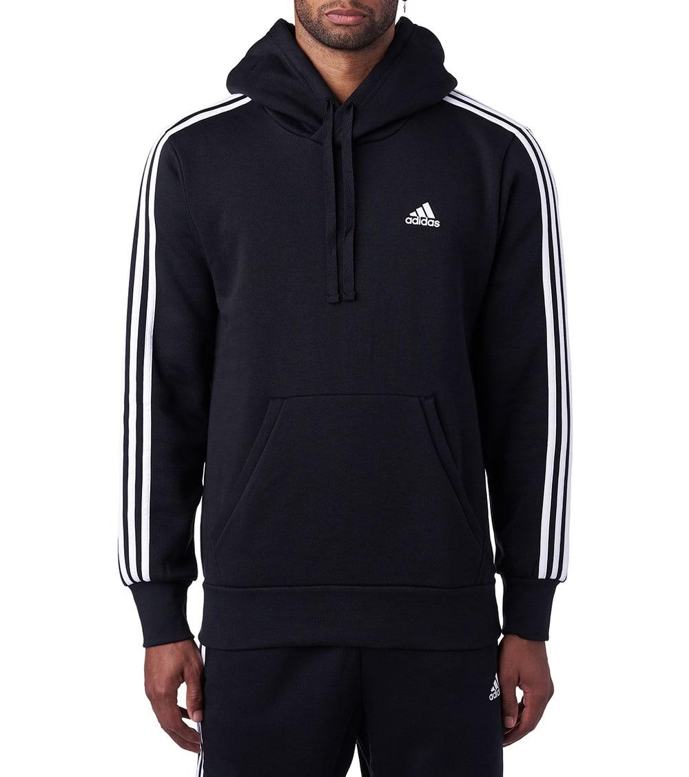 Essential 3-Stripes Pullover Hoodie