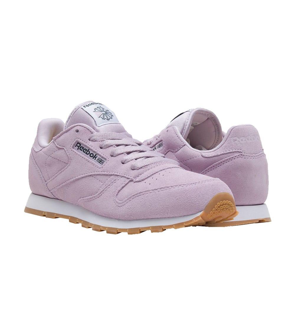 Limited Reebok Classic Leather Pastels Grade School Shoes